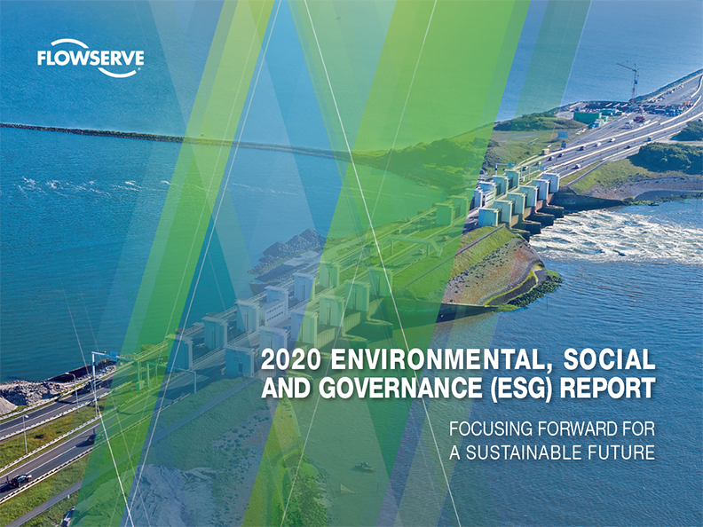 Flowserve ESG report image