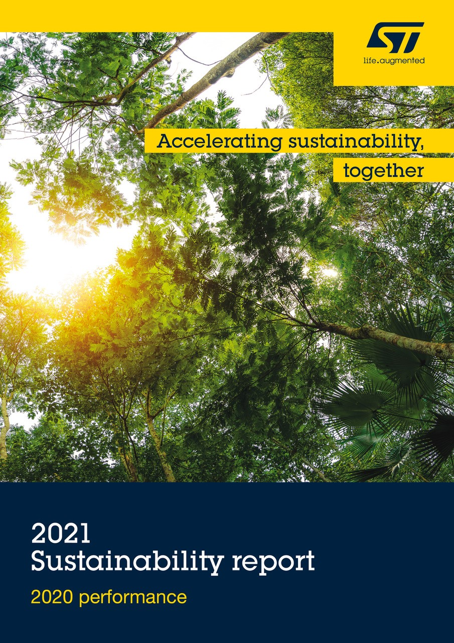 STMicroelectronics 2021 Sustainability report