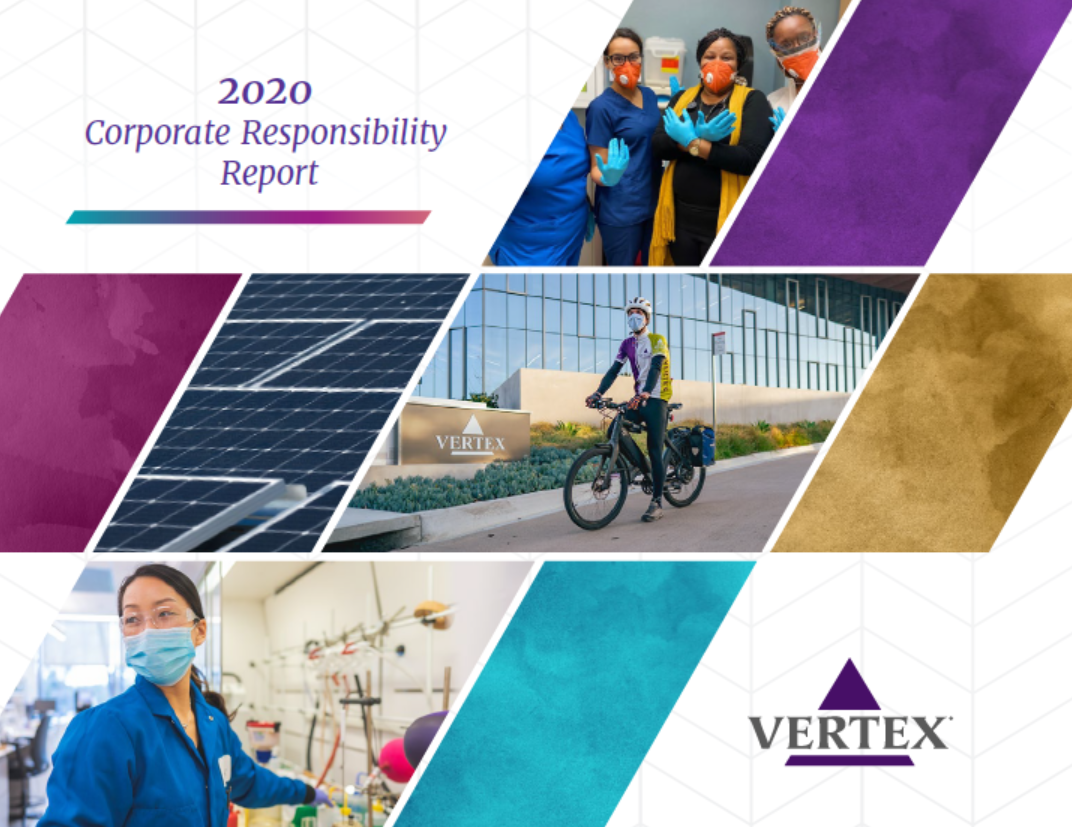 Vertex 2020 CR Report Cover
