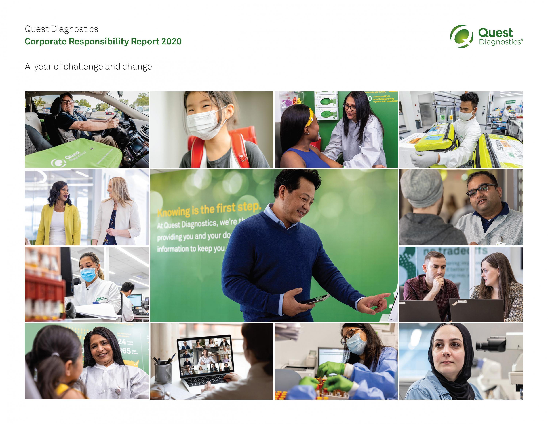 Quest Diagnostics 2020 CR Report Cover