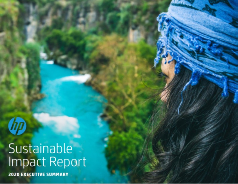 HP Inc. 2020 Report Cover
