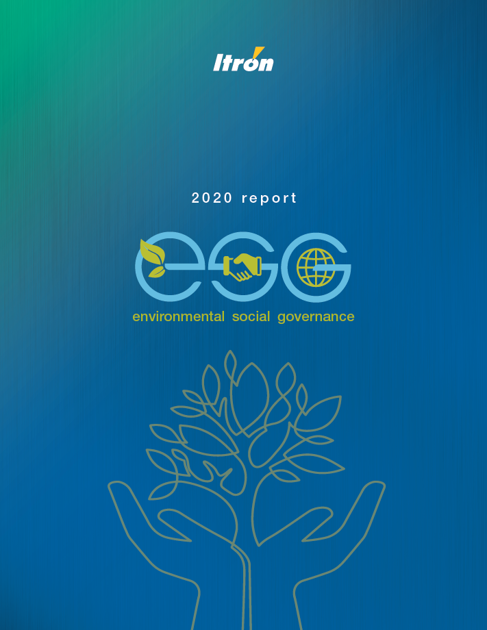 Itron 2020 report cover