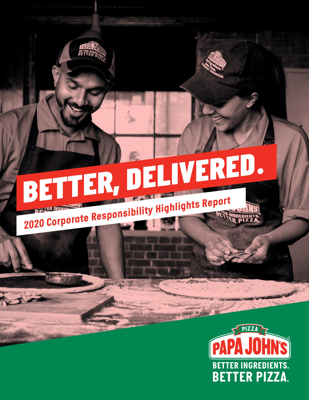 Papa John's report cover image