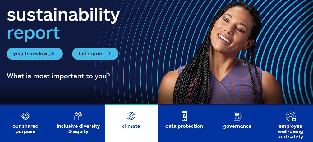 Allstate Sustainability report cover