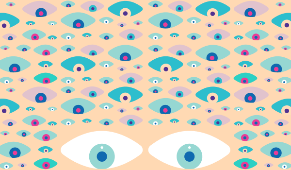 Lots of illustrated eyes