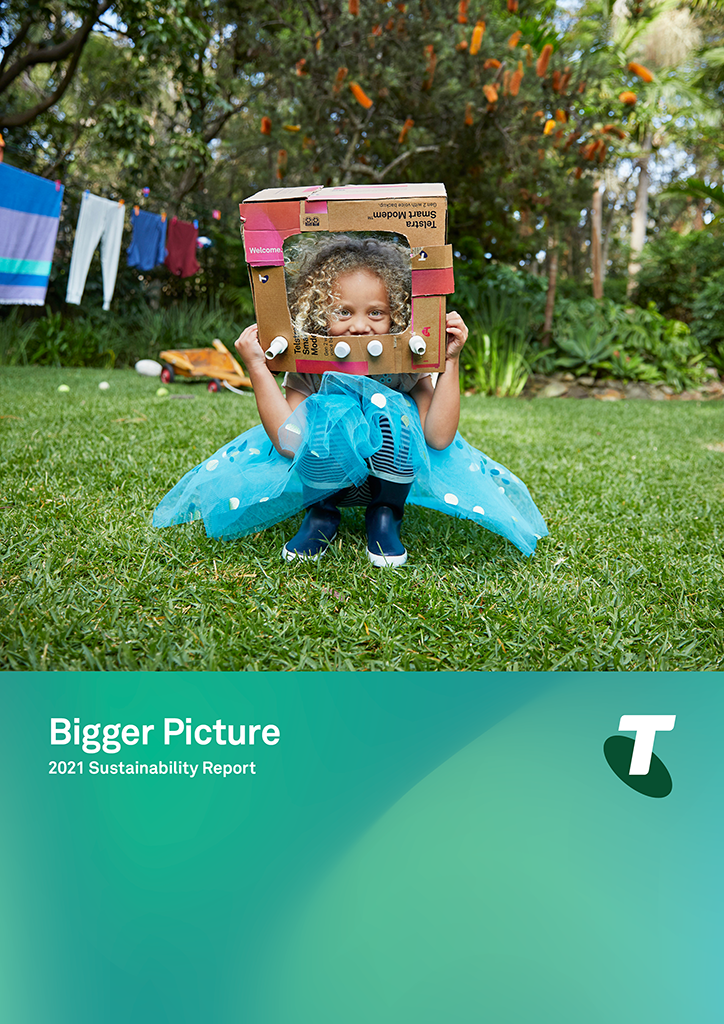 Telstra report cover