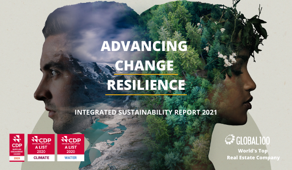 CDL Sustainability Report Cover