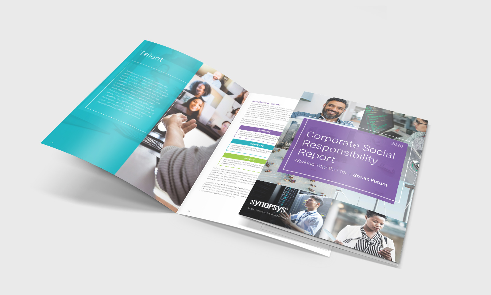 Synopsys CSR report cover