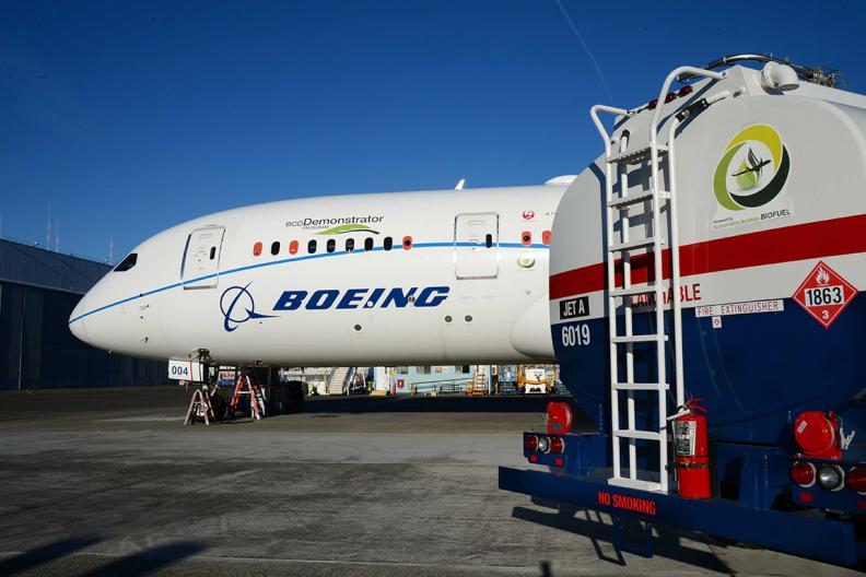 image of Boeing airplane