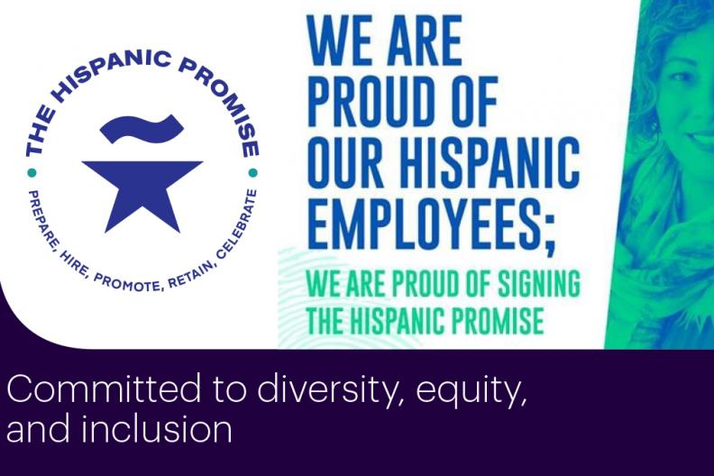 The Hispanic Promise logo and banner image