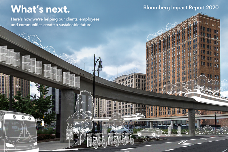 Bloomberg report cover