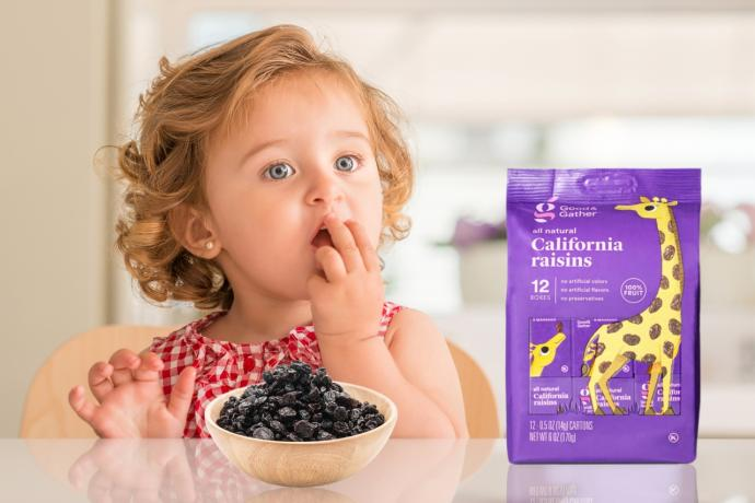 Toxin Free USA Sues Target for Deceptive Marketing of Good & Gather Raisins