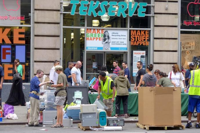 Tekserve At Its Ewaste Recycling Event