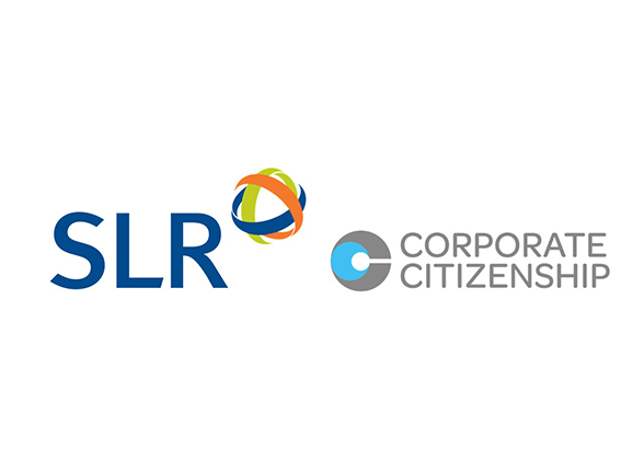 SLR and Corporate Citizenship logos