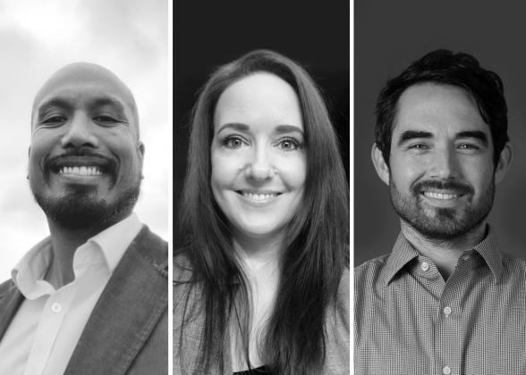 Sak Nayagam, Katherine Canoy, and Tyler Espinoza of the 3Degrees Energy and Climate Practice