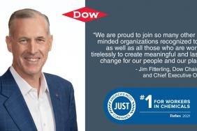 Dow Named One of America's Most Just Companies by Forbes and Just Capital Image