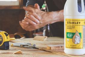 Stanley Black & Decker Distributes Hand Sanitizer to Help Keep Communities Safe Image