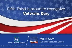 Fifth Third's Military Business Resource Groups Celebrate Veterans Day Image
