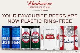 AB InBev Eliminates Plastic Rings in UK Image