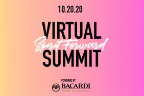 Bacardi Spirit Forward Summit Returns for Free Conversations About Authenticity, Intersectionality, the Workplace and Wellness Image