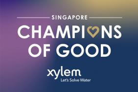 Xylem Water Solutions Singapore Named as Champion of Good and Recipient of the AmCham CARES 2020 Award Image.