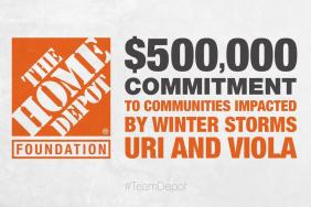 The Home Depot Foundation Commits up to $500,000 in Response to Recent Winter Storms Image