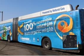 Ontario's First Carbon-negative Bus Hits the Road Image.