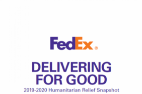 FedEx Delivering for Good: 2019-2020 Humanitarian Relief Snapshot Image