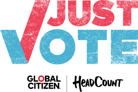 Just Vote Campaign, Global Citizen and Headcount Call on Corporations and Organizations Nationwide to Empower Employees to Engage in the Electoral Process  Image