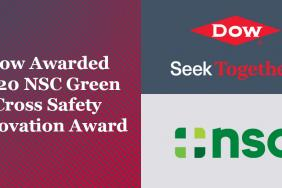 Dow Awarded 2020 NSC Green Cross Safety Innovation Award Image
