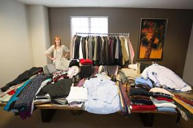 McKinney Advisory Group organizes Suit Drive for National Volunteer Month  Image