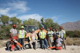 Sonsray Machinery Supports Team Rubicon Wildland Fire Cleanup in Las Vegas Image