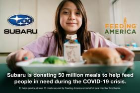 Subaru of America Partners With Feeding America to Help Provide 50 Million Meals to Help Fight Effects of COVID-19 Pandemic Image