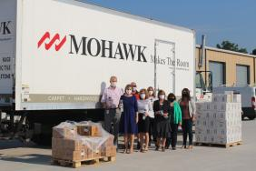 Mohawk Donates Cleaning Supplies, Hand Sanitizer and Water Bottles to Local Schools Image