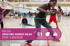 Nestlé Marks Progress toward U.S. Commitments in 2014 Creating Shared Value Report; Announces New U.S. Zero Waste to Landfill Commitment Image