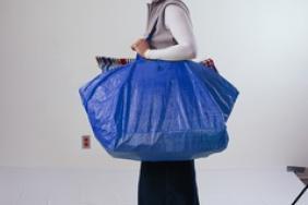 IKEA  U.S.  'Bag  The  Plastic  Bag'  Initiative  Asks  Customers To  Stop  Plastic  Bag  Waste Image.