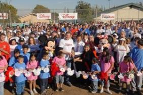 The Walt Disney Company Volunteers Build Playground for the Boys & Girls Club of East Los Angeles Image.