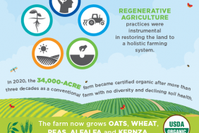 General Mills Partnership With Gunsmoke Farms to Transition 34,000 Acres of Conventional Farmland to Organic Culminates With USDA Certification Image