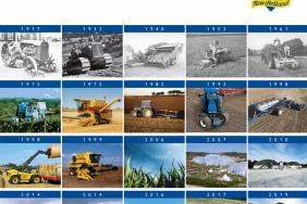 New Holland Agriculture Celebrates 125 Years of History. Making Farming More Productive, Efficient and Sustainable Image