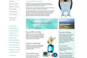 Tiffany & Co. Launches Website Dedicated To Corporate Sustainability Initiatives Image
