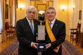 IOC President Awarded Highest Greek Order Image