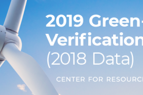 Just Released: 2019 Green-e Verification Report (2018 Data) Image