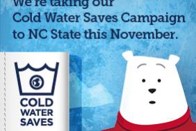 """American Cleaning Institute Launches """"Cold Water Saves"""" Campaign at NC State Image"""