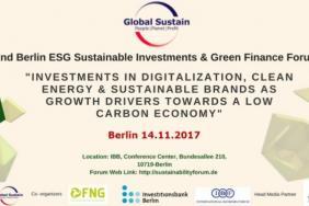 2nd Berlin ESG Investments & Green Finance Forum 2017 Image