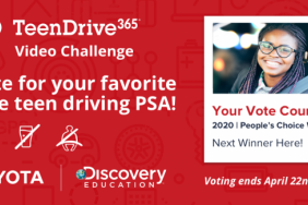 Top 10 Finalists Announced by Toyota and Discovery Education in the 2020 TeenDrive365 Video Challenge Image