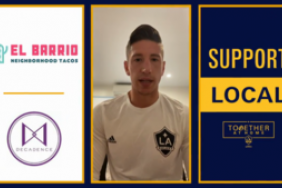 "LA Galaxy Unveil ""Support Local"" Campaign in Conjunction With TOGETHER AT HOME Image"