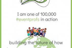 This Earth Day Be Part of a Community of 100,000 #eventprofs in Action Building the Future of How Human Connection Happens. Image
