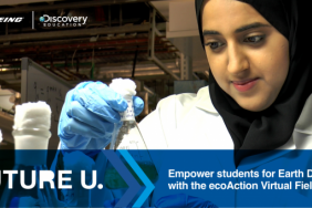 Boeing and Discovery Education Launch ecoAction Virtual Field Trip Diving into Earth-Friendly Engineering Image