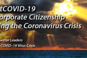 Corporations Respond to the Virus Crisis - Series From G&A Institute -- Excellence in Corporate Citizenship on Display Image