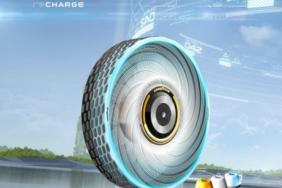 The Goodyear reCharge Concept — A Renewable, Sustainable and 100% Biodegradable Tire Image